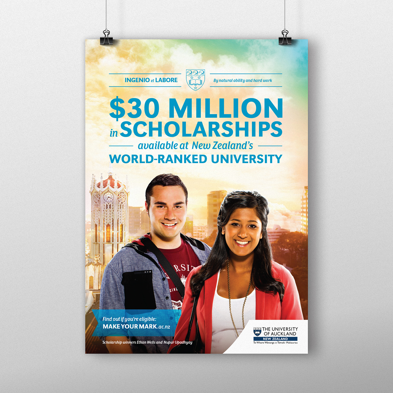 Auckland University Poster